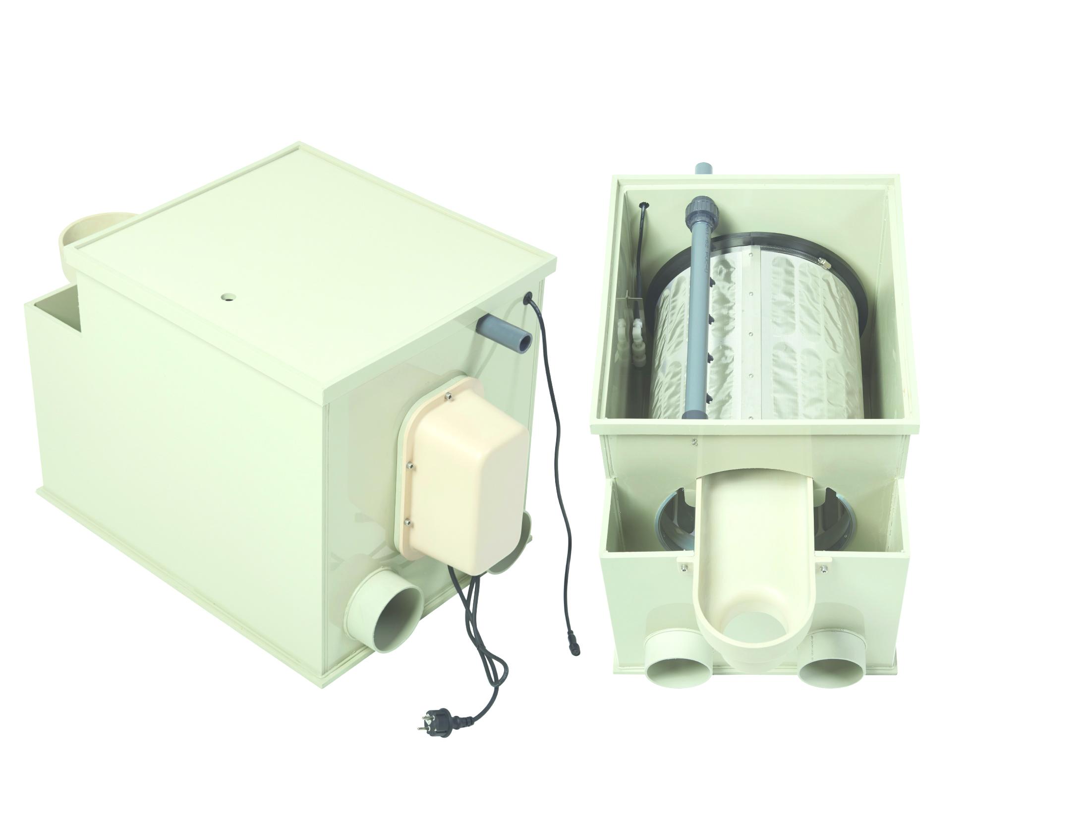 FW  PP30 Trommelfilter EcoLine -  bis 30 m³/Std.