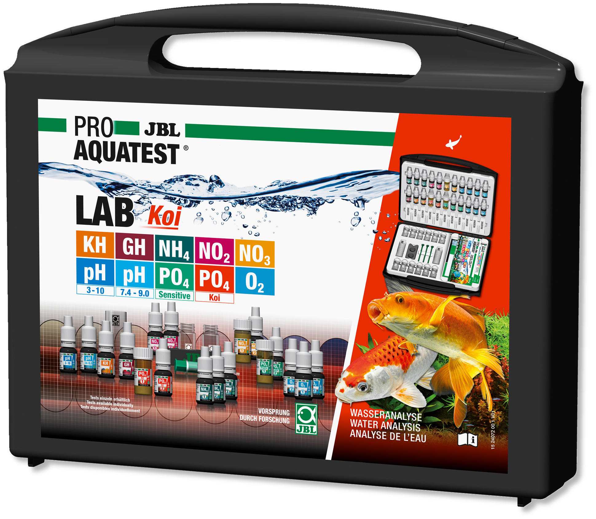 JBL PROAQUATEST LAB Koi ( 10 Tests )