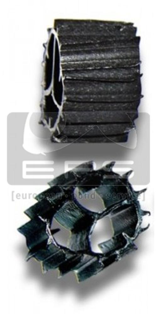HX 09 KLL - schwarz - 836 m² Oberfläche - Ø:9mm - 50 Liter