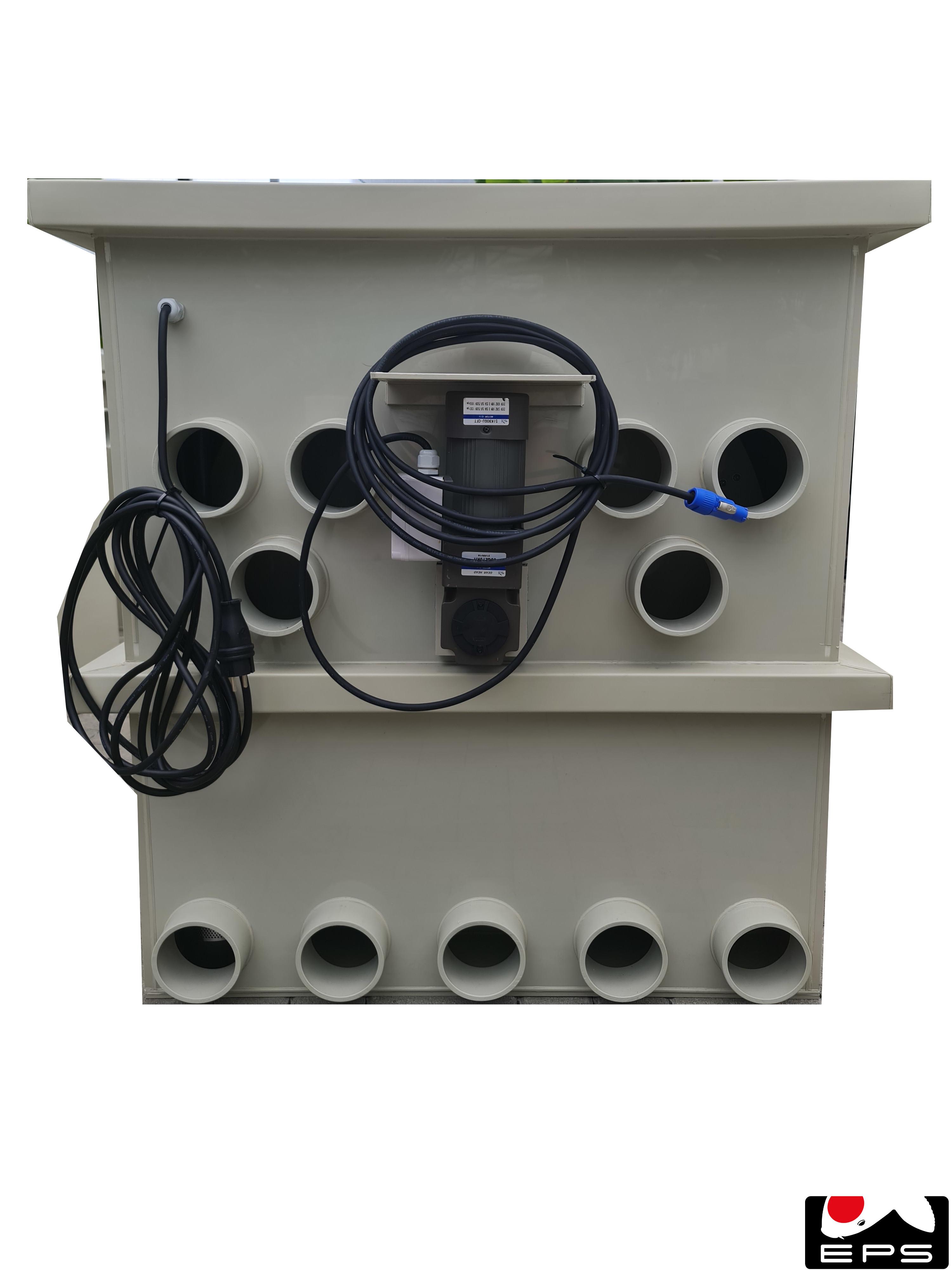 EPS Trommelfilter PP100 mit Spülpumpe