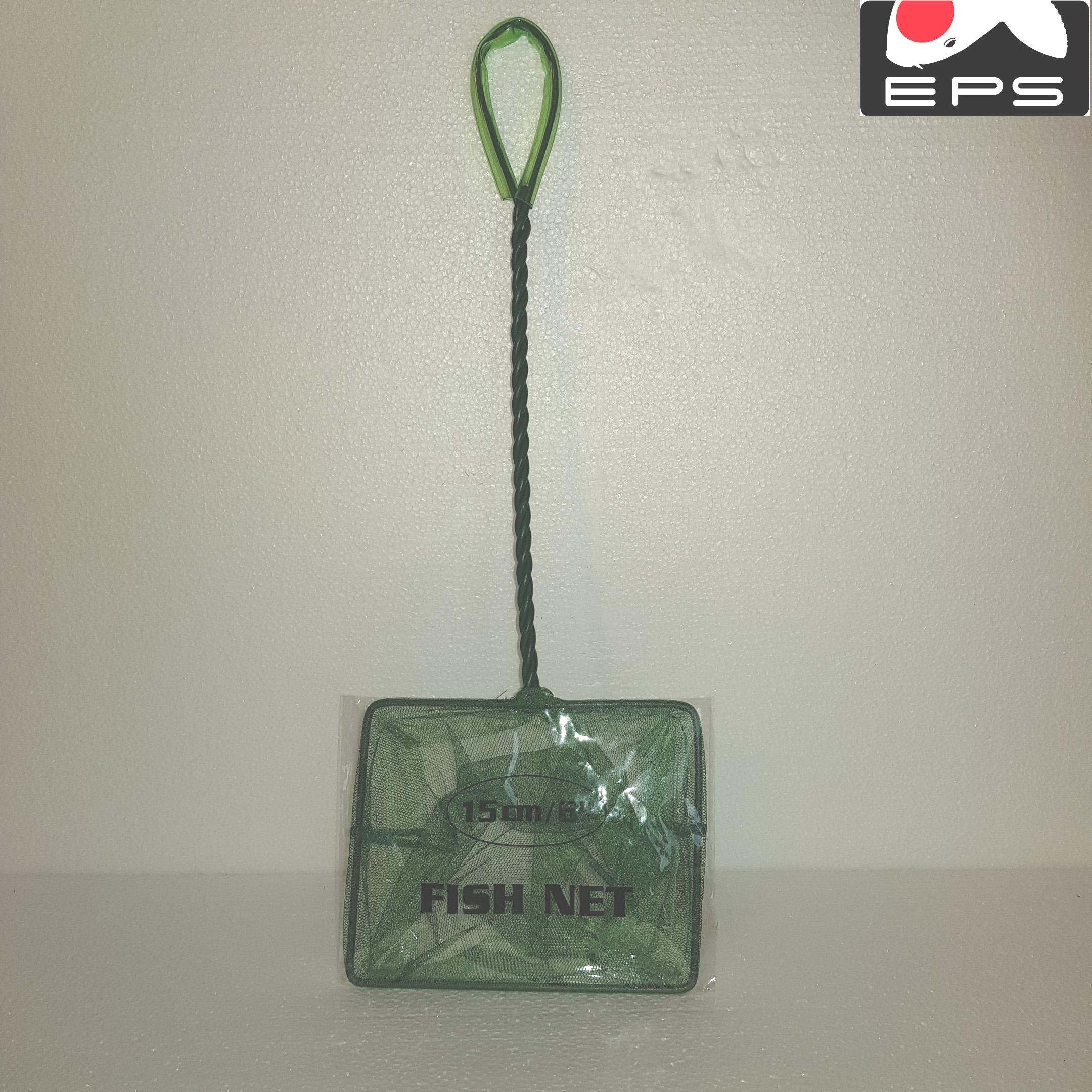Aquarienkescher, Aquarien-Kescher, Kescher für Aquarien / Aquarium 15 x 12 cm, Griff: 25 cm