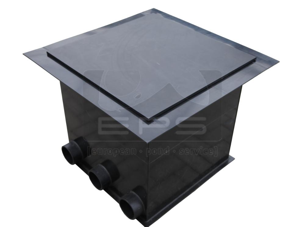 PE Pumpenkammer 60 x 60 x 60 cm + Kotgrube