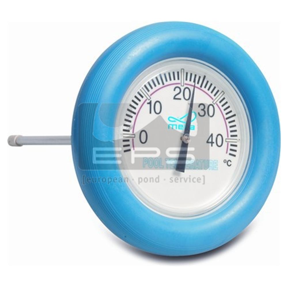 Schwimmthermometer rund