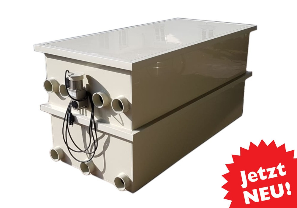 EPS Combi-Trommelfilter CF65 mit integrierter Biokammer + Pumpenkammer