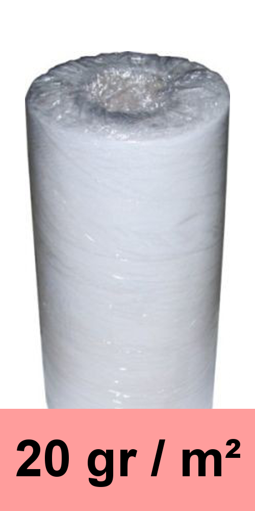 Filtervlies, Ersatzvlies MPP 20 800 mm x 200 m