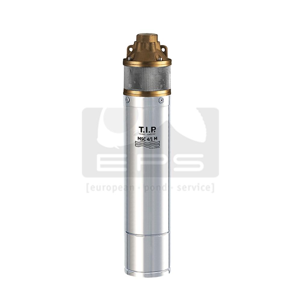 Spülpumpe für Trommelfilter TIP MSC4/1 nass mit außen liegendem Anlaufkondensator
