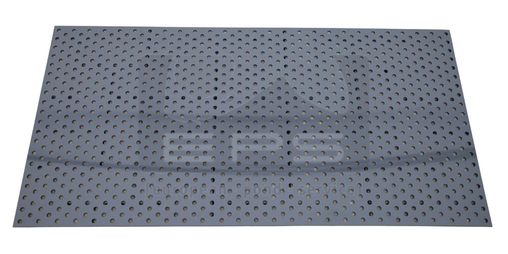 PVC Lochplatte 1200 x 600 x 5 mm