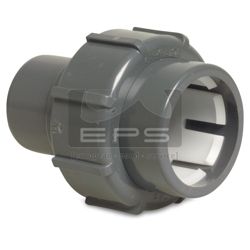 """Flex-Fit PVC Klemmverbindung 50 mm x 1 1/2"""" IG"""