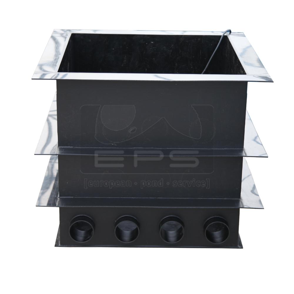 PE Pumpenkammer 80 x 80 x 80 cm + Deckel + Kotgrube