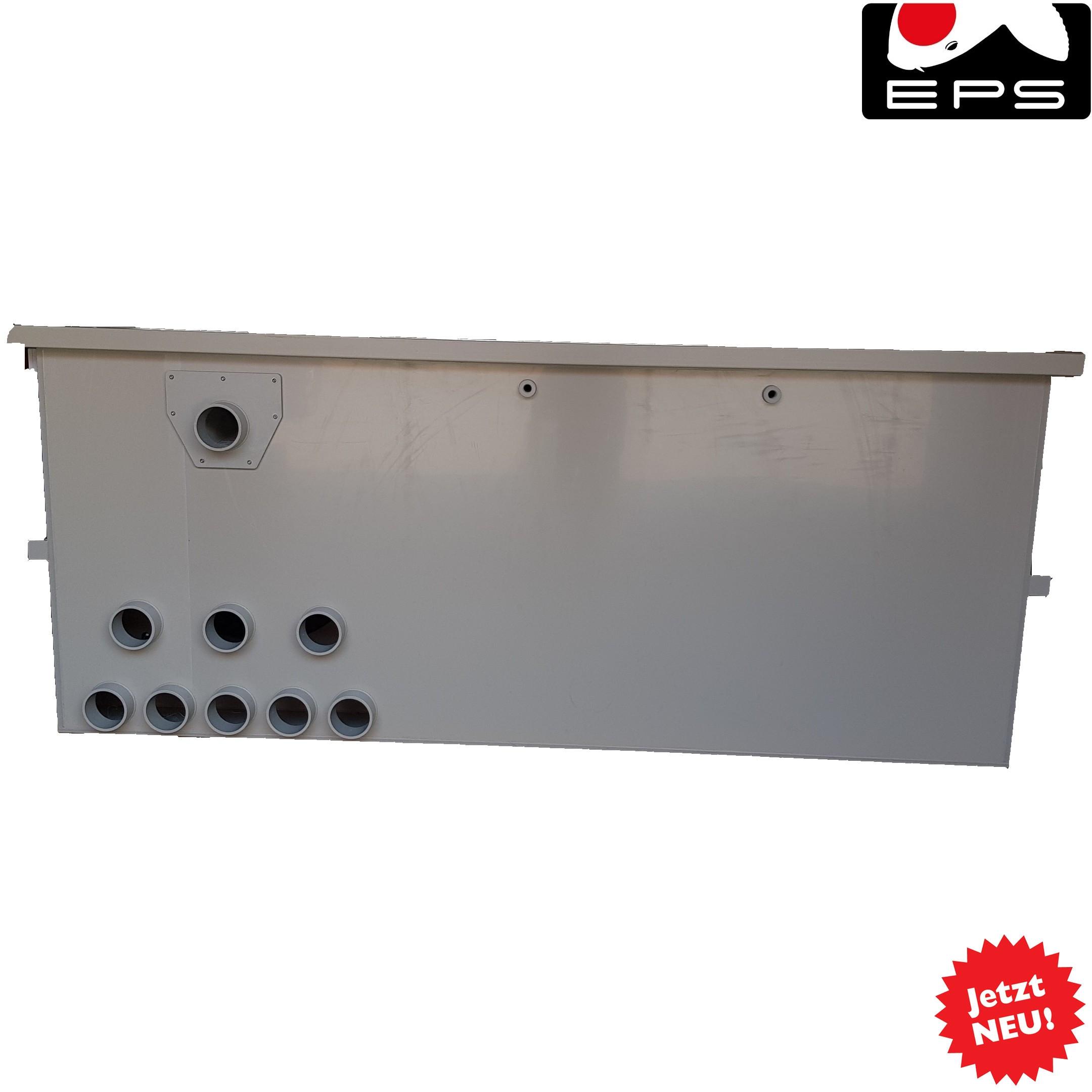 EPS Combi-Trommelfilter CF100 mit integrierter Biokammer + Pumpenkammer