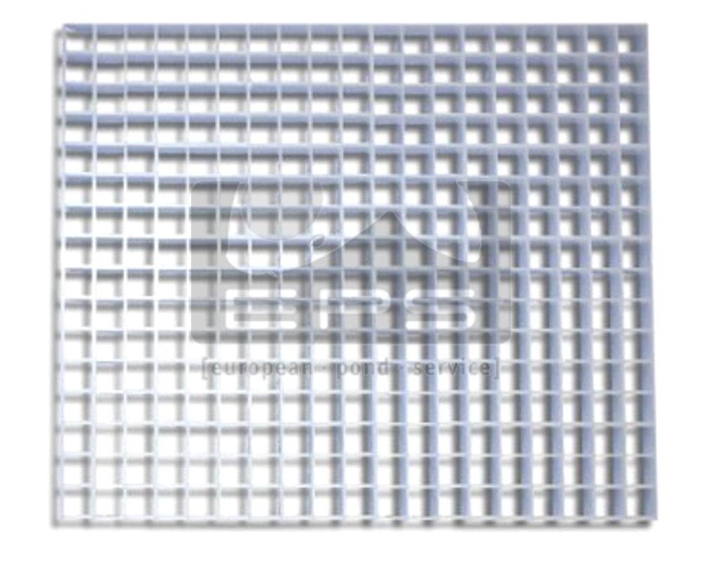 10er Pack Lichtstegplatte weiß (1210x603mm) - Wabe (13x13x13mm)