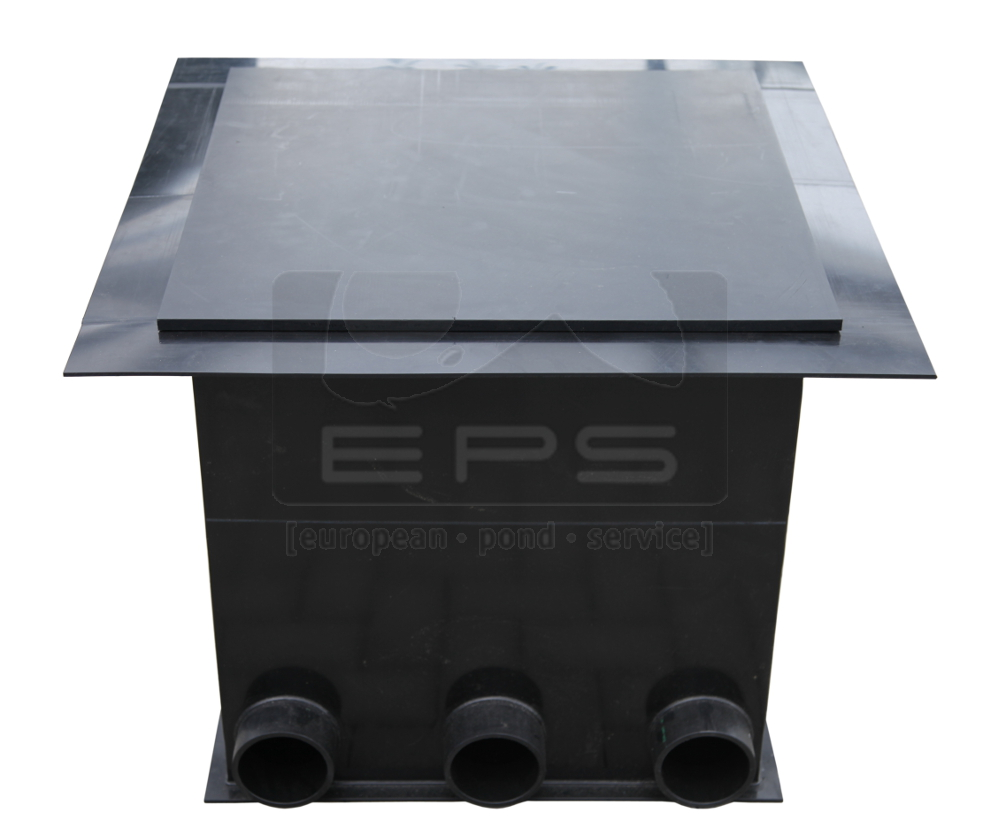 PE Pumpenkammer 80 x 80 x 60 cm + Deckel + Kotgrube