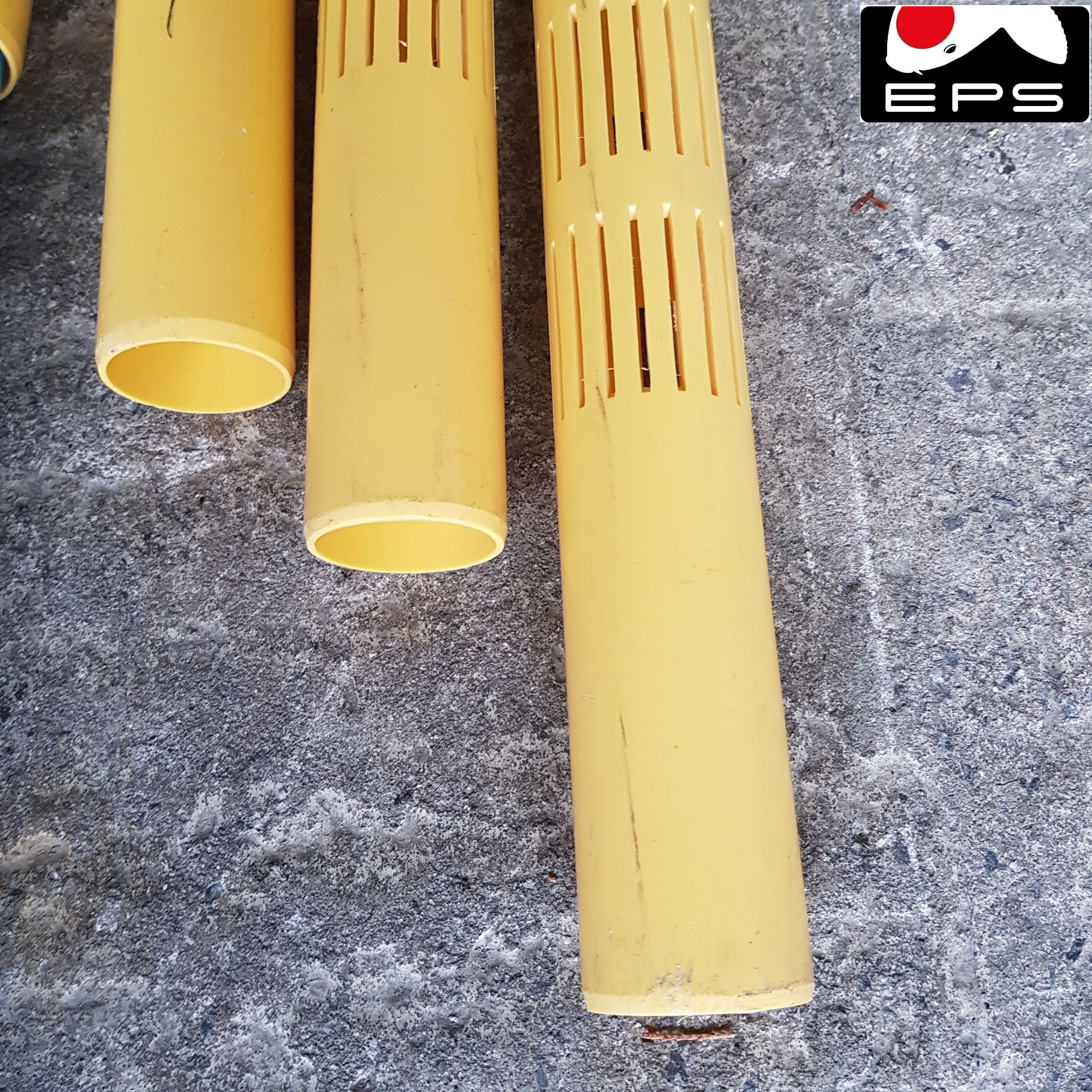 Filterrohr PVC 40 mm Schlitz 1 mm pro lfm