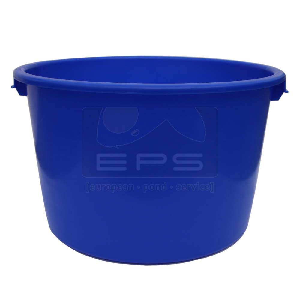 Inspektionswanne Bowl rund 90 l  63x39 cm aus HDPE blau