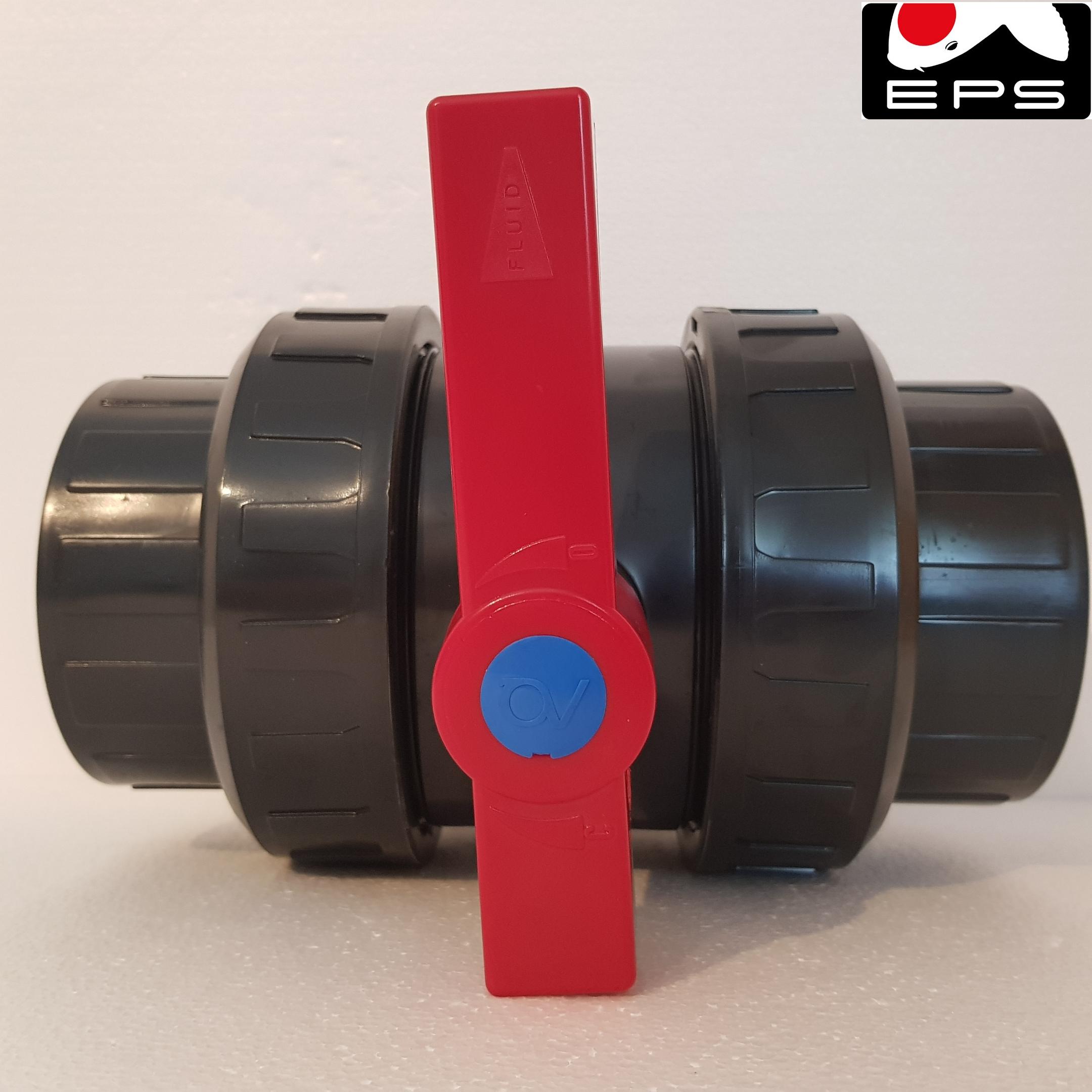 PVC Kugelhahn 90 mm