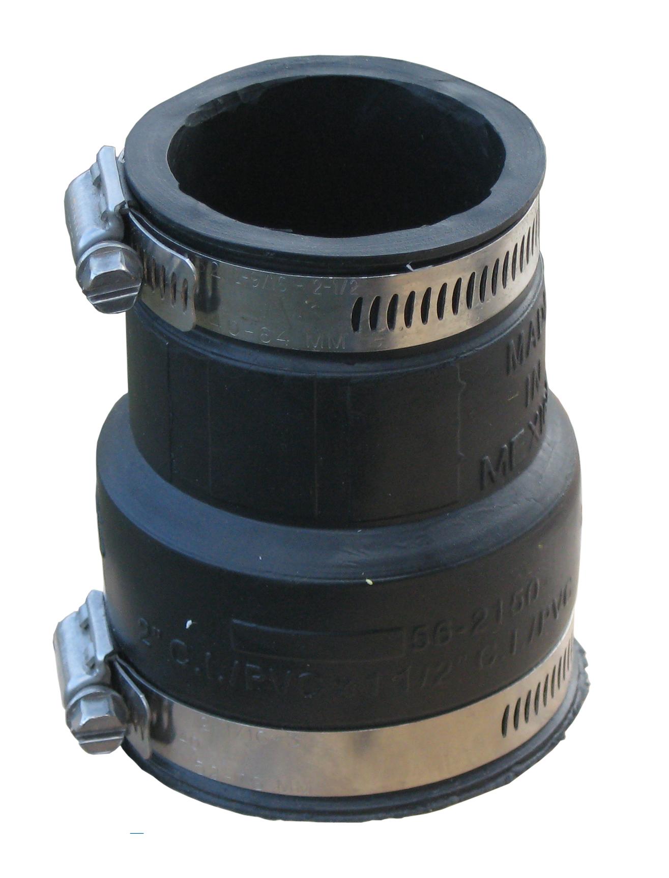 Elastomer Reduziermuffe 50x32mm