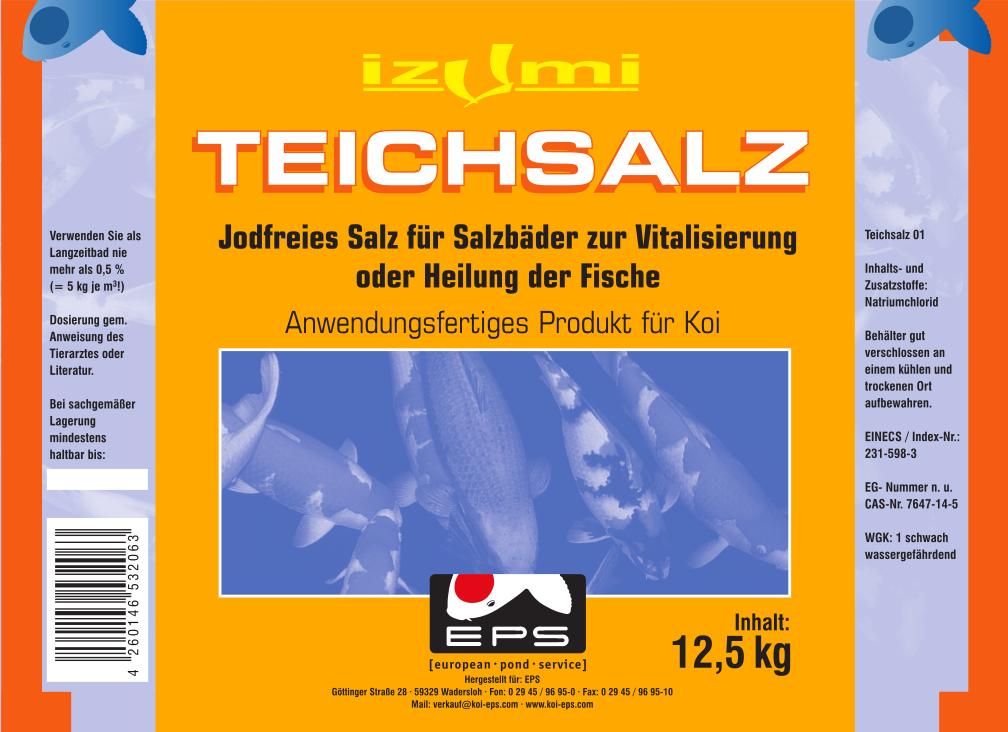 Teichsalz 12,5 kg jodfrei