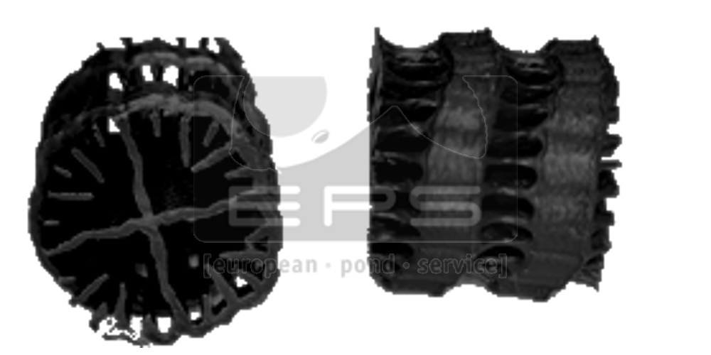 HXF 13 KLL - schwarz - 955 m² Oberfläche - Ø:13mm - 50 Liter