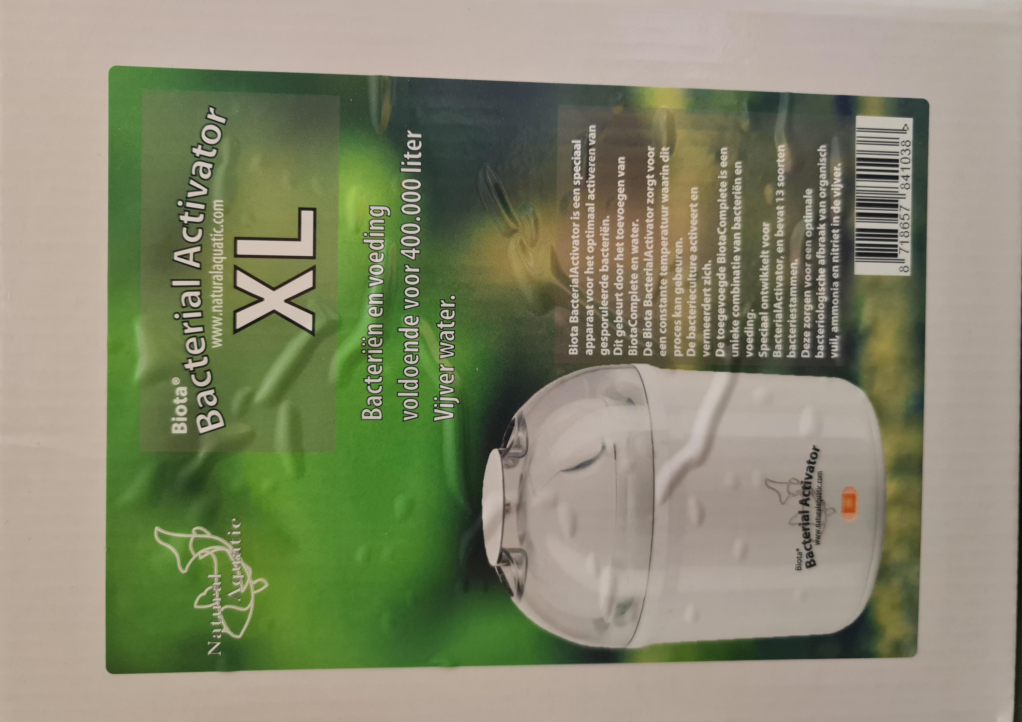Biota Bacterial Activator XL 400.000 L (Kocher)