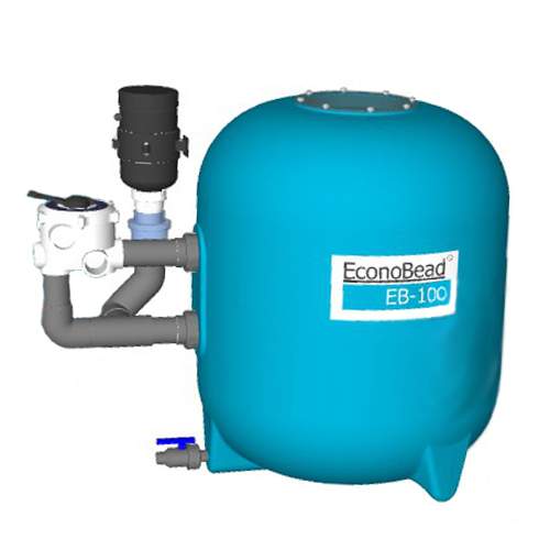 "EconoBeadfilter EB100 63 mm Verrohr. 2"" Ventil"