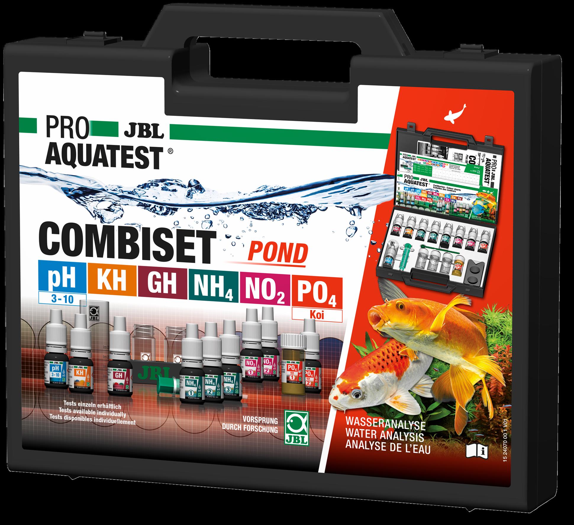 JBL PROAQUATEST COMBISET POND Teich ( 6 Tests )