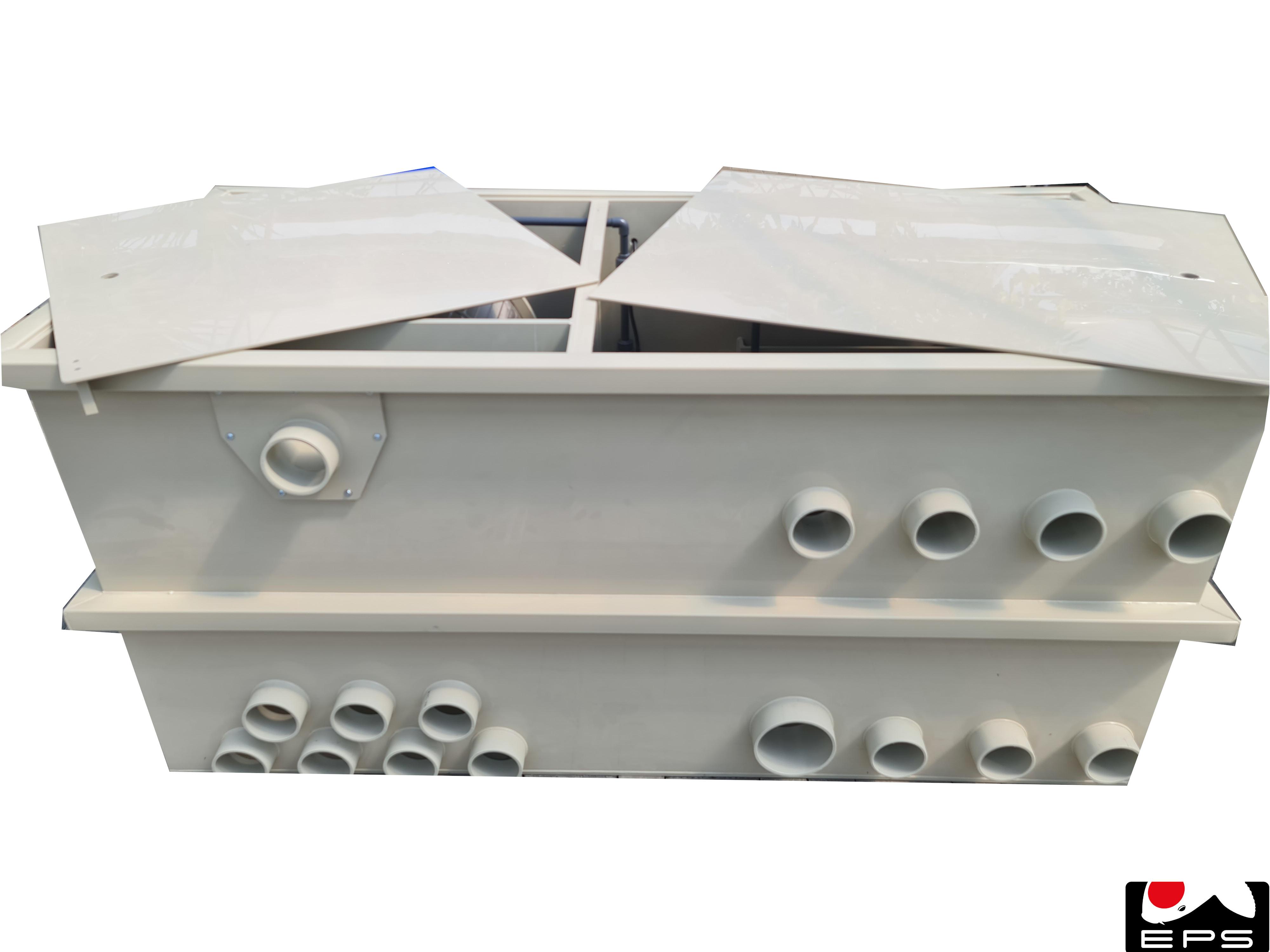 EPS Combi-Trommelfilter CL65 Quer mit integrierter Spülpumpe