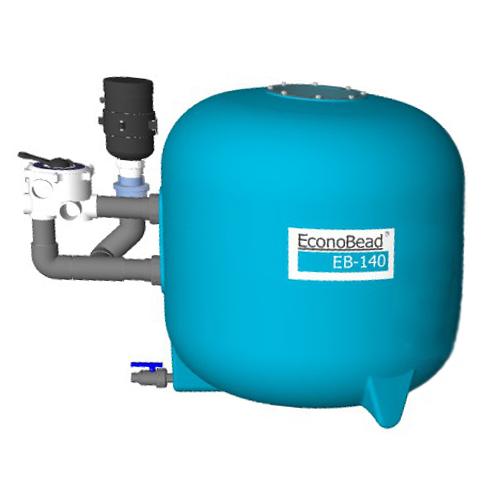 "EconoBeadfilter EB140 63 mm Verrohr. 2"" Ventil"