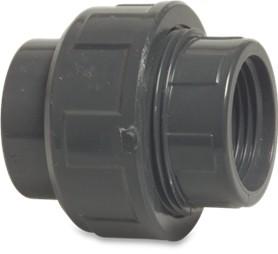 """PVC Verschraubung mit Gewinde-90 mm-3""""-AG"""