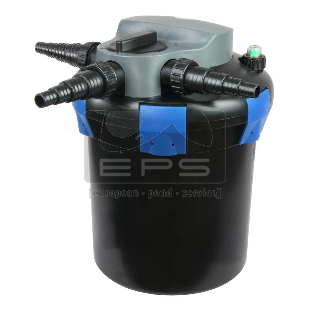 Druckfilter ODF 6.000 inkl. UVC 9 Watt mit Rückspüleinrichtung