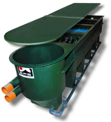 4-Kammer-RV XL inkl. Verrohrung u. Füllpaket