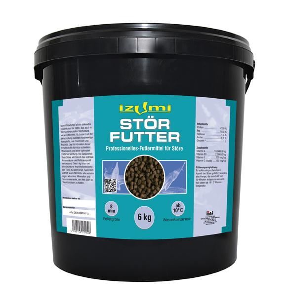 Izumi Störfutter 6 mm -  6 kg