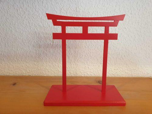 """japanisches Tor """"Torii"""" aus Holz"""