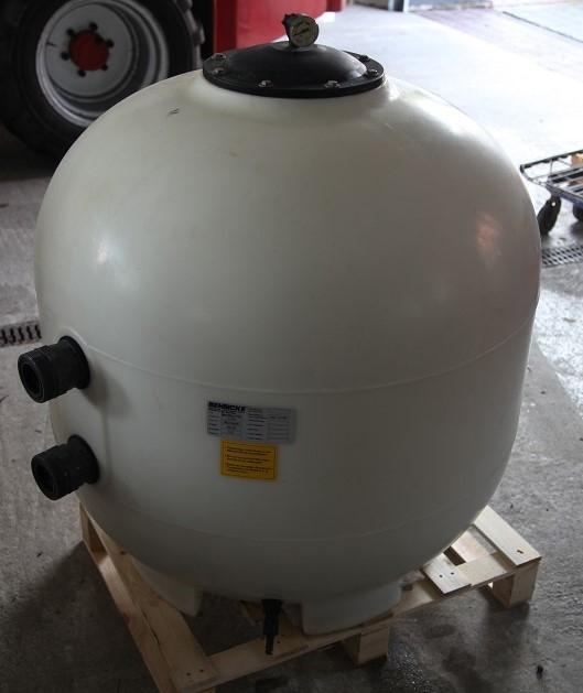 Behncke Beadfilter d 900 incl. Filtermaterial und Verrohrung Bead GEBRAUCHT