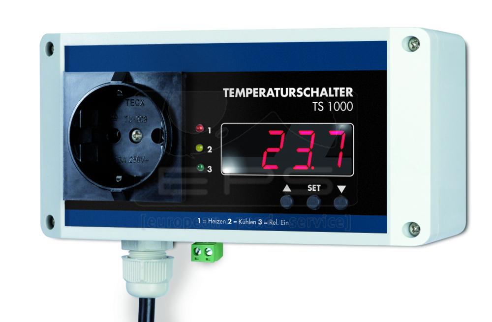Temperaturschalter TS 1000 für PT 1000 Fühler