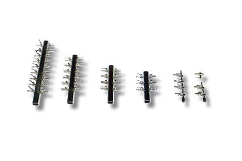 Luftverteiler 4mm, 1-Weg, 2 x Schlauchanschluss