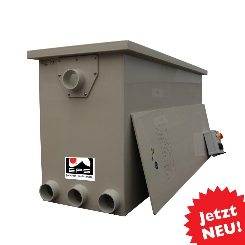 EPS Combi-Trommelfilter CF35 mit integrierter Biokammer + Pumpenkammer